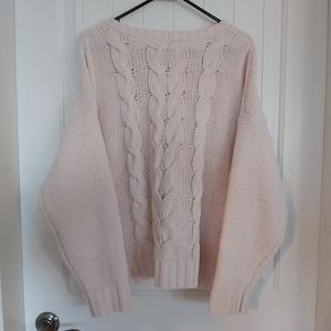 AMERICAN EAGLE  CABLE KNIT SWEATER/B6